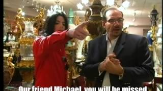 Michael Jackson goes shopping in Las Vegas