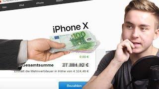 ICH KAUFE ALLES BEI APPLE! - iPhone X, Mac Pro und CO? ─ WAS KOSTET ES?