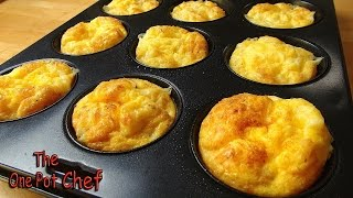 Oven Baked Mini Omelettes | One Pot Chef