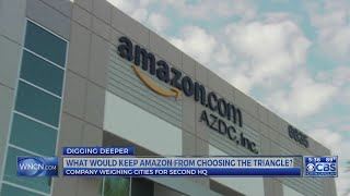 Regional officials says Triangle has infrastructure, including transit system, to draw new Amazon HQ