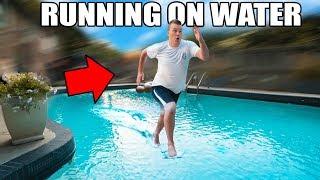 RUNNING ON WATER CHALLENGE!! 🏃🏻💧