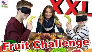 XXL FRUIT CHALLENGE | mit übler Bestrafung | TipTapTube