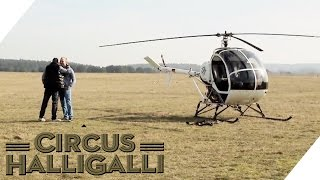 Mein bester Feind #1: Helicopter-Bungee | Circus HalliGalli