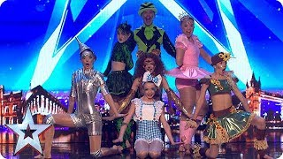 The Wonderful Wizards of Oz  | Auditions Week 1 | Britain's Got More Talent 2018