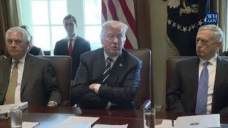 WOW!, EXCELLENT: President Donald Trump MASSIVE Cabinet Meeting