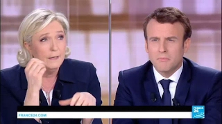 "Marine Le Pen to Emmanuel Macron: ""in your philosophy, everything is for sale!"""