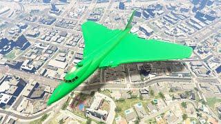 MASSIVE $3,950,000 STEALTH BOMBER PLANE! (GTA 5 DLC)