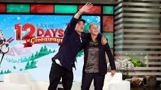 Ellen Makes Brad Pitt's 12 Days Dreams Come True