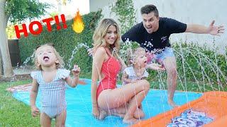NEW FAMILY SUMMER SPLASH PAD!