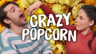 The Ultimate POPCORN Creation + BIG NEWS!! (Cheat Day)