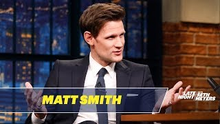 Matt Smith Reflects on Doctor Who