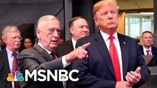President Donald Trump Says Mattis 'Could Be' Leaving Defense Department | Hardball | MSNBC