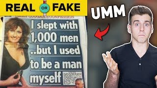 Real Or Fake News? (The Ultimate Test)