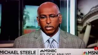 """Michael Steele on the Republicans """"red line"""" for Donald Trump"""