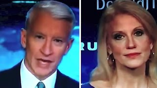 Anderson Cooper States a Fact, Makes Kellyanne Conway Look Like She Might Cry