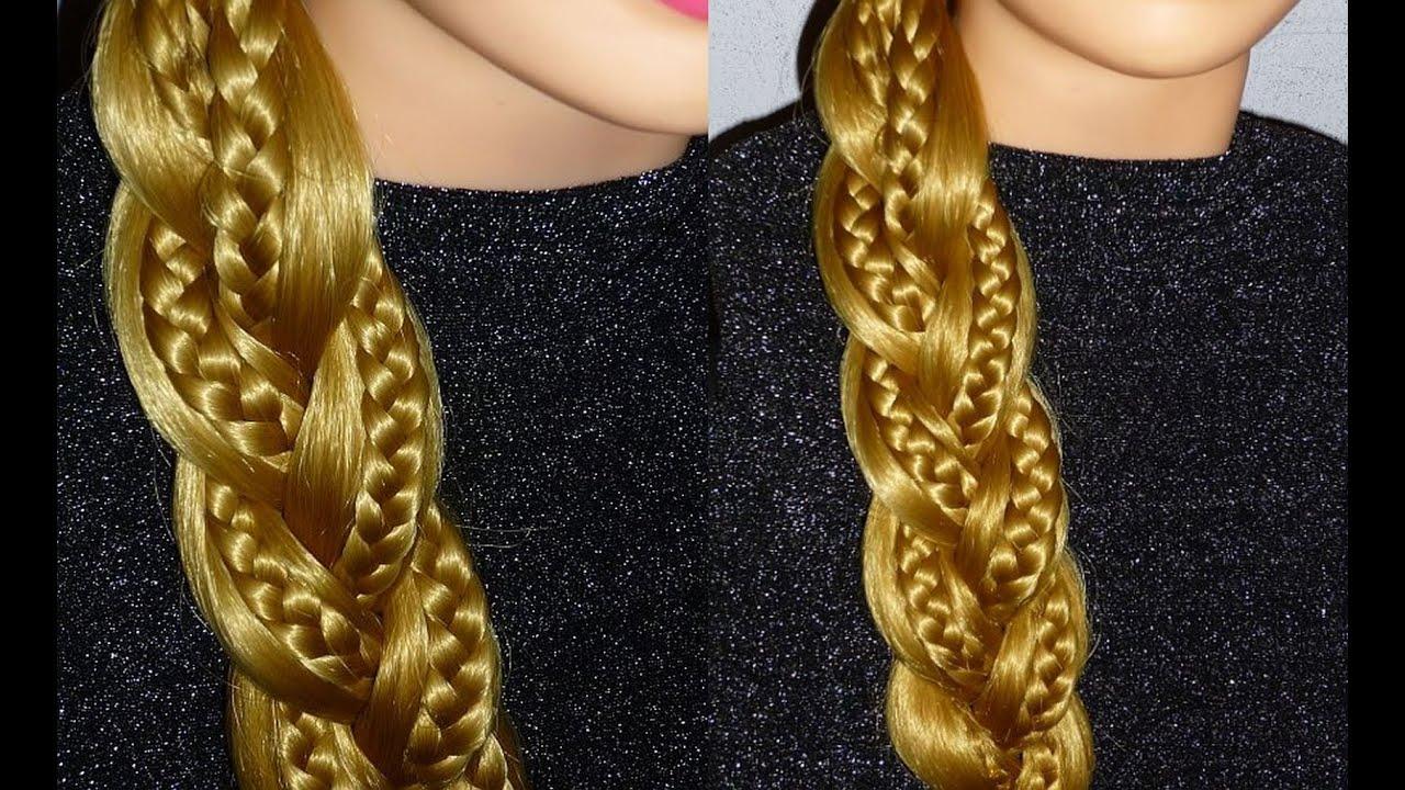 Плетение кос самое просто видео