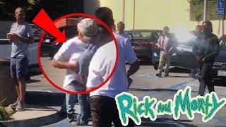 SZECHUAN SAUCE turns into a GANG SHOWDOWN at McDonalds!! Rick and Morty | Vlog
