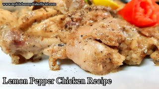 Lemon Pepper Chicken Recipe | Murgh Kali Miri Recipe In Hindi - English Subtitles