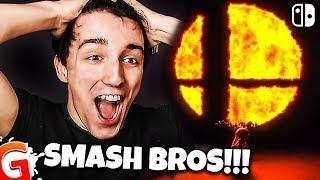 EPIC SUPER SMASH BROS SWITCH LIVE REACTION (Nintendo Direct Trailer 2018)
