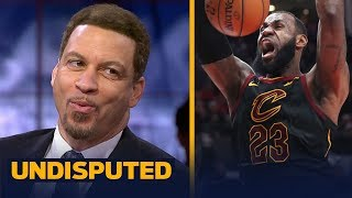 Chris Broussard reacts to LeBron's epic dunk on Portland's Jusuf Nurkic | UNDISPUTED