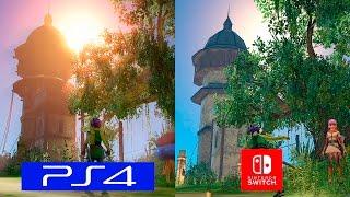 Dragon Quest Heroes | Switch VS PS4 Pro | GRAPHICS COMPARISON | Comparativa