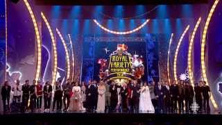 One Direction & Demi Lovato (song # 2)  with cast Royal Variety Performance 2014/15