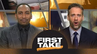 Stephen A. and Max argue about which Kobe Bryant was better: 8 or 24 | First Take | ESPN