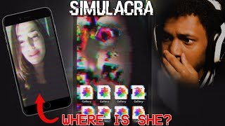 I FOUND A CELL PHONE.. WHAT HAPPENED TO HER!? | Simulacra Gameplay (FOUND CELLPHONE HORROR GAME)