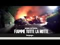 Incendio Pomezia, fiamme alte per tutta ...mp3