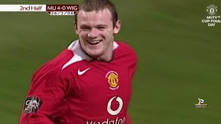 Manchester United 4-0 Wigan - League Cup Final 2006