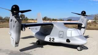 VTOL V-22 Osprey RC Model at Banana Hobby!