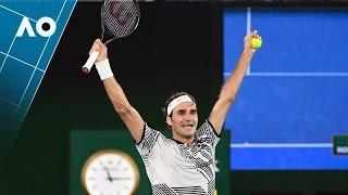 Match point cliffhanger from Federer | Australian Open 2017