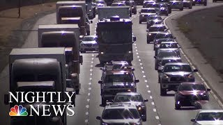 Holiday Gridlock Ensues As Thanksgiving Travelers Flock Roads And Airports | NBC Nightly News