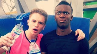 KSI AND JOE WELLER BEFORE THE BEEF COMPILATION