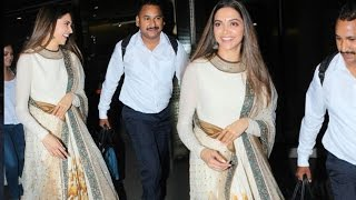 Excited Deepika Padukone Rushes To Meet Ranveer Singh!