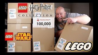 I bought a $1,553 Amazon Customer Returns LEGO & TOYS Pallet / Mystery Box + HARRY POTTER EXCLUSIVE