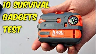 10 Survival Gadgets put to the Test - part 2