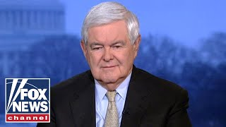 Gingrich reacts to the tension between Pelosi and Trump