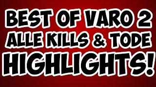 Minecraft VARO 2 Highlights - Alle Kills & Tode + Rangliste