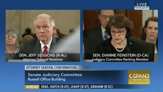 Feinstein on Sessions