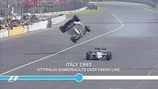 The Most Unusual Crashes in F1 History