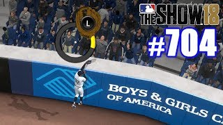 ROBBING A HOMER IN THE POSTSEASON!   MLB The Show 18   Road to the Show #704