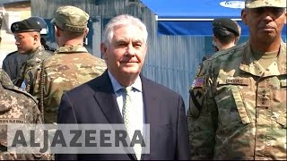Rex Tillerson on North Korea: 'All options on the table'