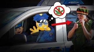 Verrückter DROGENDEALER Prank (fast verhaftet von POLIZEI) | PvP
