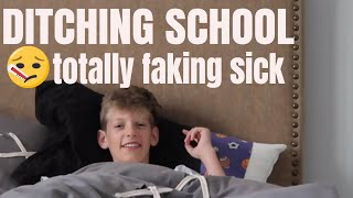 FAKING SICK TO PLAY FORTNITE