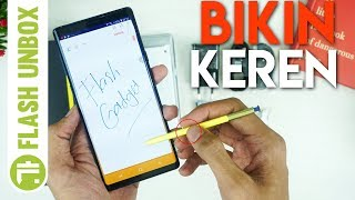 Unboxing dan Hands On First Impression Samsung Galaxy Note 9 Resmi Indonesia