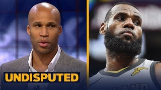 Richard Jefferson on playing with LeBron, Talks key to Cavs winning Game 2 vs Pacers | UNDISPUTED
