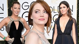 10 Best Dressed Celebs At 2017 Golden Globes