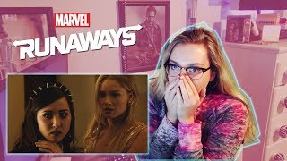 "Runaways Season 1 Episode 9 ""Doomsday"" REACTION!"