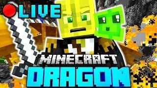 500 DRACHEN GLEICHZEITIG?! - Minecraft DRAGON LIVESTREAM (2/2)